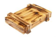 pudełkowaty drewniany Obraz Stock