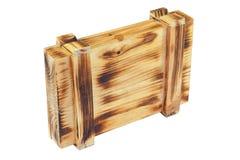pudełkowaty drewniany Zdjęcie Stock