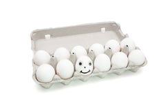 pudełkowaty dumpty jajeczny humpty papier Fotografia Stock