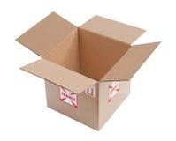 pudełkowaty karton obraz stock