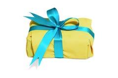 pudełkowaty kolor żółty Zdjęcie Royalty Free