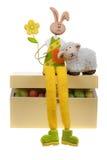 pudełkowaty królik Easter Zdjęcia Royalty Free