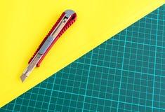 Pudełkowaty krajacza nóż Fotografia Royalty Free