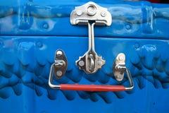 pudełkowaty kruszcowy bagażnik Fotografia Stock
