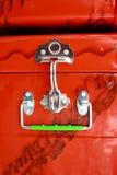 pudełkowaty kruszcowy bagażnik Fotografia Royalty Free
