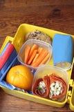 pudełkowaty lunch Fotografia Stock