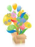 pudełkowaty prezent Zdjęcie Royalty Free