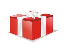 pudełkowaty prezenta teraźniejszości wektor Fotografia Royalty Free