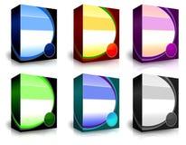 pudełkowaty produkt Zdjęcia Stock