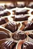 pudełkowatych czekolad foliowy złoto Zdjęcia Royalty Free