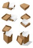 pudełek papieru wektor Fotografia Stock