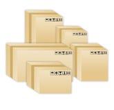 pudełka Zdjęcie Stock