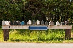 pudełka mail wiejskiego Zdjęcie Stock