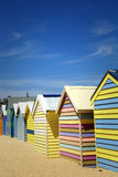 Pudełka w Brighton, Australia Zdjęcie Royalty Free