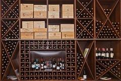 Pudełka wino Obraz Stock