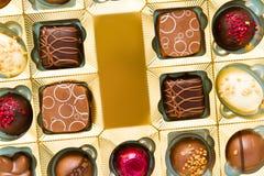 Pudełko czekolady Obrazy Royalty Free