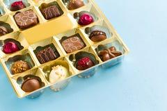 Pudełko czekolady Fotografia Royalty Free