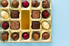 Pudełko czekolady Obraz Royalty Free