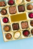 Pudełko czekolady Obrazy Stock