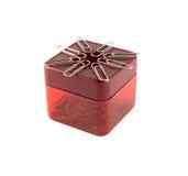 Pudełko dla papierowych klamerek Zdjęcie Royalty Free