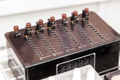 Pudełko dla telefonicznych kabli Obrazy Stock