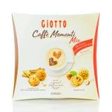 Pudełko Fererro Giotto Caffe Momenti fotografia stock