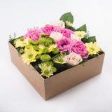 pudełko kwitnie prezent Obraz Stock
