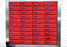 pudełko list Zdjęcie Stock