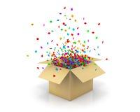 pudełko otwarty Obraz Royalty Free