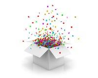 pudełko otwarty Obraz Stock