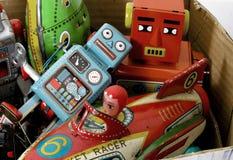 Pudełko retro zabawka Obrazy Stock