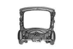 pudełko samochodu rama Obrazy Royalty Free