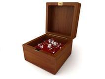 pudełkowaci diamenty Obraz Royalty Free