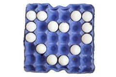 pudełkowaci jajka Obrazy Royalty Free