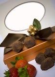 pudełkowata czekolady Zdjęcia Royalty Free