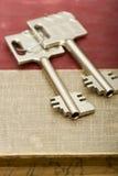 pudełkowata klucza depozytów bezpieczny Fotografia Royalty Free