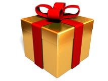 pudełkowata prezent Zdjęcia Royalty Free