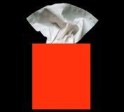 pudełkowata tkanki Zdjęcie Royalty Free