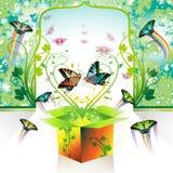 pudełkowata wiosna Obrazy Royalty Free