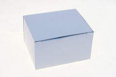 pudełkowaty biel Zdjęcia Stock