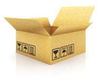 pudełkowaty cargoboard Obraz Royalty Free