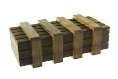 pudełkowaty drewniany Obrazy Royalty Free