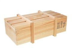 pudełkowaty drewniany Zdjęcia Royalty Free