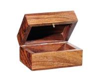 pudełkowaty drewniany Obrazy Stock