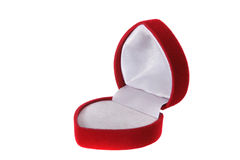 pudełkowaty formularzowy serce Obraz Royalty Free