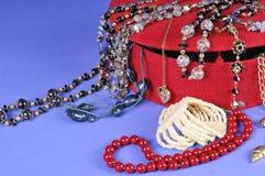 pudełkowaty jewellery Zdjęcie Stock