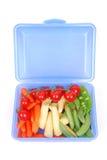pudełkowaty karmowy zdrowy lunch Zdjęcia Stock