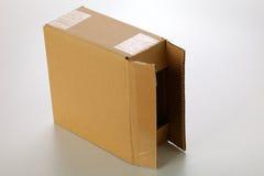 pudełkowaty karton Fotografia Royalty Free