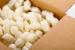 pudełkowaty karton Zdjęcie Stock