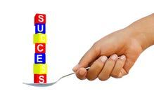 pudełkowaty kolorowy sukces Obrazy Stock